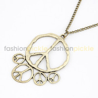 Peace All the Way Long Necklace