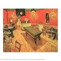 The Night Cafe with Pool Table