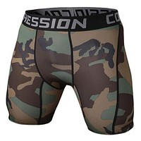 Summer Compression Tights Shorts Fitness Men Bodybuilding Shorts Bermuda Shorts