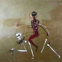 Riding with Death (1988), Giclee Print, Jean-Michel Basquiat