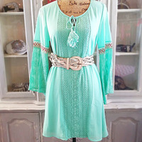 EVER CHANGING DRESS IN MINT