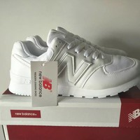 """""""New Balance 574"""" Unisex Sport Casual N Words Sneakers Couple Running Shoes"""