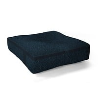 Iveta Abolina Peacock Pond Floor Pillow Square