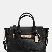 COACH SWAGGER 27 IN PEBBLE LEATHER | Dillards