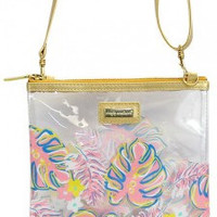 Simply Southern Leaf Purse-Pink