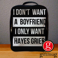 Hayes Grier Magcon Backpack for Student