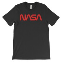 NASA Worm Logo (center) T-Shirt