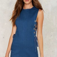 Crew Skies Ahead Denim Dress
