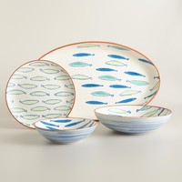 Riviera Fish Serveware Collection