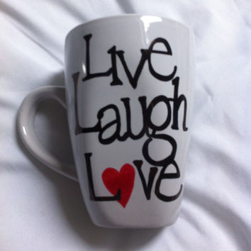 Live Laugh Love Coffee Mug