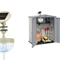 Crown Solar Shed Light : Homesteader's Supply - Self Sufficient Living