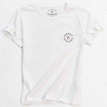 Thinking MU Embroidered Division Tee