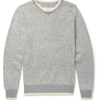 Maison Martin Margiela - Knitted Cotton and Linen-Blend Sweater | MR PORTER