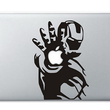 iron man----------macbook decal mac pro stickers mac air decals mac sticker apple laptop decals for macbook air pro/ipad