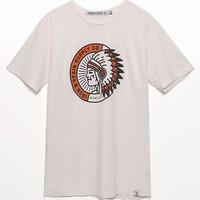 Iron & Resin Cherokee T-Shirt - Mens Tee - Natural