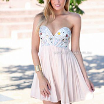 LOBEY MOLLY 2.0 DRESS , DRESSES, TOPS, BOTTOMS, JACKETS & JUMPERS, ACCESSORIES, SALE NOTHING OVER $25, PRE ORDER, NEW ARRIVALS, PLAYSUIT, GIFT VOUCHER,,Pink,Sequin Australia, Queensland, Brisbane