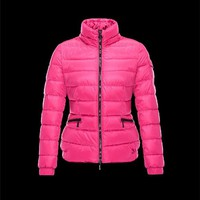 Moncler SABY Detachable Turtleneck Fuchsia Jackets Nylon/Polyamide Womens 41457124TH
