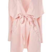 Esme Waterfall Belted Trench Coat
