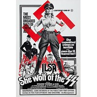 Ilsa: She Wolf of the SS Poster//Ilsa: She Wolf of the SS Movie Poster//Movie Poster//Poster Reprint