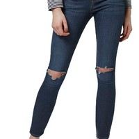 Topshop 'Leigh' Vintage Ripped Jeans (Petite) | Nordstrom