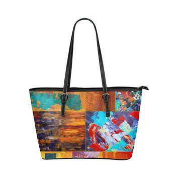 Tote Bags, Abstract Mixed Color Style Bag