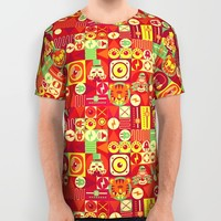Electro Circus All Over Print Shirt by Chobopop