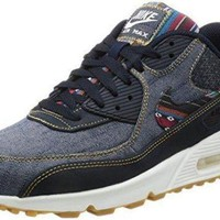 PEAPONS Nike Air Max 90 Premium Men's Running/Fashion Sneaker nike air max 90