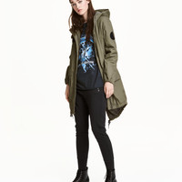 Cotton Parka - from H&M
