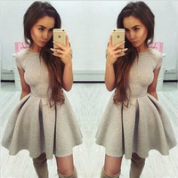 Sexy Backless Erotic Casual Party Playsuit Clubwear Bodycon Boho Dress _ 8876