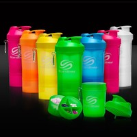 SmartShake NEON SERIES Protein Blender Shaker Mixer Cup 20 oz PICK COLOR