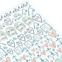 Nail Pop Tay-Tay Nail Decals Multi One