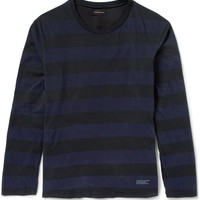 Undercover - Striped Long-Sleeved Cotton-Jersey T-Shirt | MR PORTER