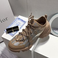 DIOR Reflective D-CONNECT SNEAKER