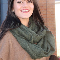 Get Cozy Infinity Scarf {5 Colors Available}