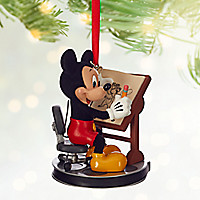 Mickey Mouse Animator Sketchbook Ornament - Personalizable