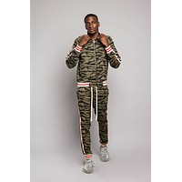 Tiger Camo Track Suit Set