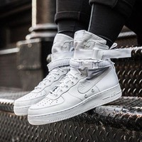 "Nike Special Field Air Force 1 ""Triple White"" Sneakers"