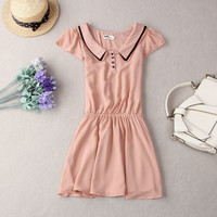 Princess Sailor Collar Dress
