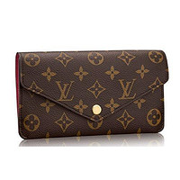 Louis Vuitton Monogram Canvas Jeanne Wallet Article:M62155 Made in France Tagre™