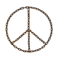 Peace Chain Wall Decoration