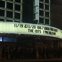 Theater Concert Poster - The 1975 Sold Out Show Matte Art Print