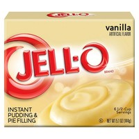 Jell-O Instant Vanilla Pudding & Pie Filling 5.1oz : Target
