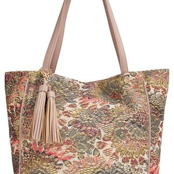 pretty ships 'Fortaleza' Sequined Tote