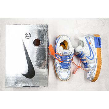 OW x Nike Air Rubber Dunk CU6015-100 Size 40-46
