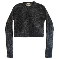 Wool jumper ACNE STUDIOS Black