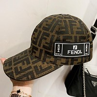Fendi New fashion more letter couple fisherman hat cap