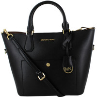 Michael Kors Large Greenwich Satchel Handbag Bag