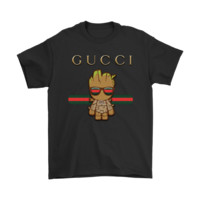 DCCK2 Gucci Guardians Of The Galaxy Baby Groot Shirts
