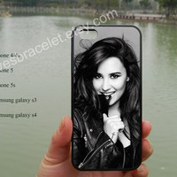 Demi Lovato,iPhone 5s case,iPhone 5c case,Samsung Galaxy S3 S4,iPhone 4 Case,iPhone 5 Case,Demi Lovato the Neon Lights Tour,iPhone 4S-40