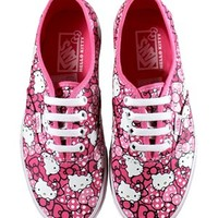 Vans Authentic Hello Kitty Pink Trainers - Buy Online at Grindstore.com